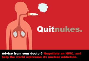 Quit Nukes poster