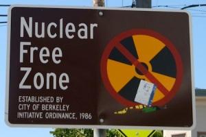 Berkeley nuclear free zone