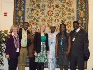 Team IPPNW at the UN ATT meeting