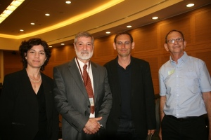 Helfand at Knesset