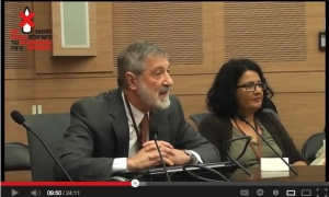 Must-see video!: Dr. Ira Helfand debates nuclear abolition with a member of Israel's Likud Party in the Knesset.