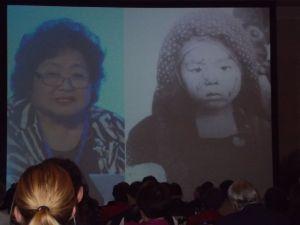 Setsuko Thurlow offers Hibakusha testimony