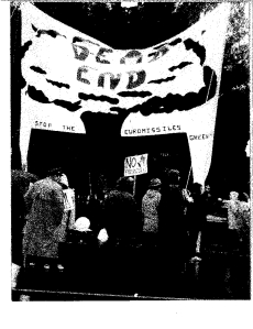 Antinuclear demonstration