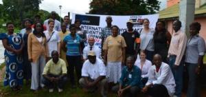Meeting of Zambian Partners, Zambia/ Austria Victim Assistance Project