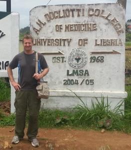 Dr. Winnington in Liberia