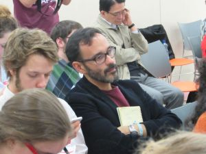 Carlos Umana of Costa Rica, at the ICAN campaigners meeting in Geneva preceding the OEWG.