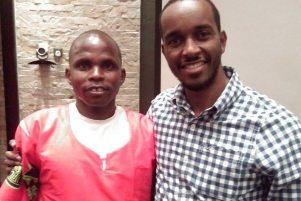 Peter Mburu and Gunrunners star